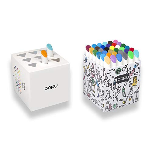 OOKU Gel Crayons 36 Colors Set - Twistable, Retractable & Washable Crayons - Non Toxic Art Supplies for Adults/Kids/Toddlers - 3 in 1 Crayon, Pastels, Watercolors Effect by OOKU (Image #4)