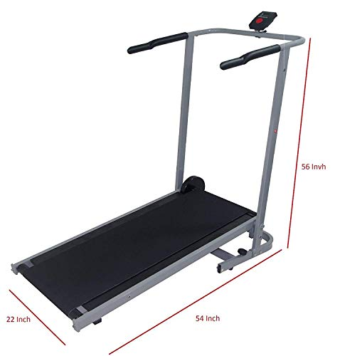 I-J Manual Treadmill Incline 5.0 Wide Belt Walking for sale  Delivered anywhere in Canada