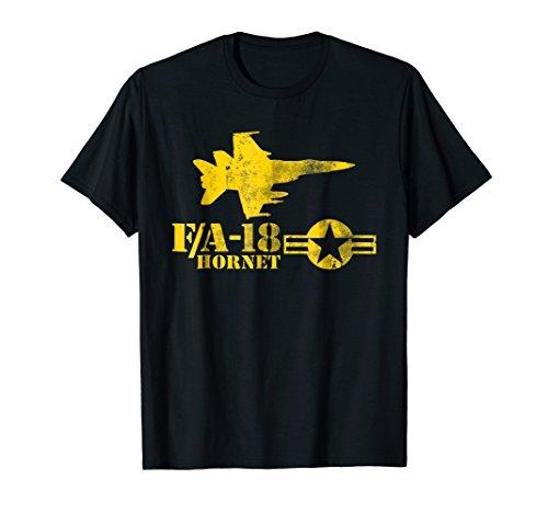 Navy Fighter Jet T-shirt - F/A-18 Hornet ()