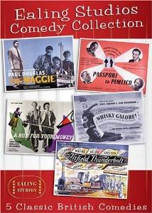 Ealing Studios Comedy Collection (The Maggie / A Run for Your Money / Titfield Thunderbolt / Whisky Galore! / Passport to Pimlico) Basil Radford (Passport Whisky)