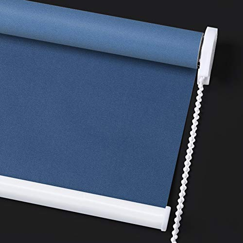 JIANFEI Roller Shades Blind Honeycomb Occlusion Privacy Light Filtering Shading Rate 50% UV Protection Bedrooms Bathroom,3 Colors, 24 Sizes Support Customization (Color : C, Size : 35.4×39.3in)