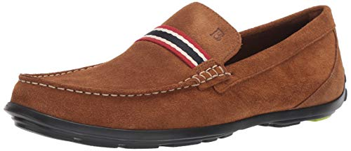 Bostonian Men's Grafton Driver Driving Style Loafer cola Suede 095 M US