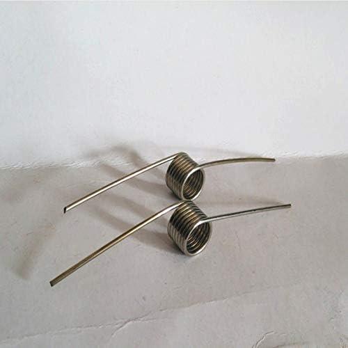 ZZB-LSTH, 10PCS Toy Frühling Stahlkon- Torsionsschraubenfeder, 1,5 mm Drahtdurchmesser X 13,5 mm Durchmesser Out X (45-90) mm Schenkellänge (Size : 1.5x13.5x90mm)