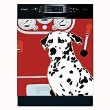 Appliance Art 10916 Appliance Art Fire House Dog Dishwasher Cover