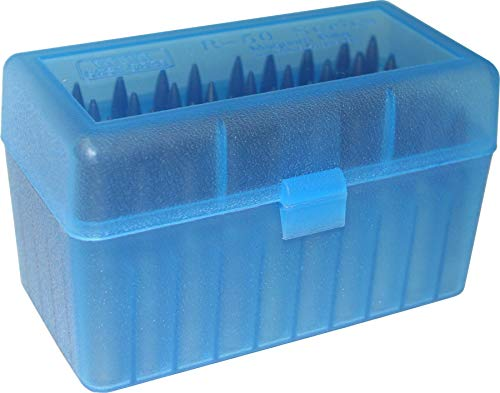 MTM 50 Round Flip-Top Rifle Ammo Box Large Mag