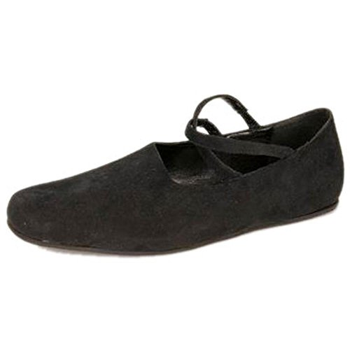 Women's Renaissance Costume Shoes (Size: small 5-6) - Plats Costume Shoes