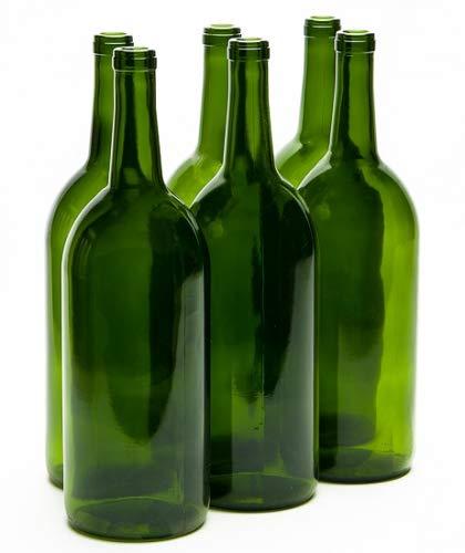 1.5 Liter Magnum Claret Wine Bottles Green (6/Case)