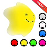 Inchic Decor Night Light, Star Silicone Nursery Toy Night Lamp, 7 Color Changing, Touch Control, USB Rechargeable (1 Pack) Review