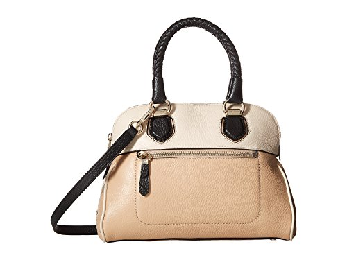Cole Haan Women's Tali Small Dome Satchel Nude Multi Handbag