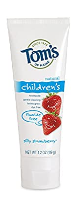 Tom's of Maine Fluoride Free Children's Toothpaste