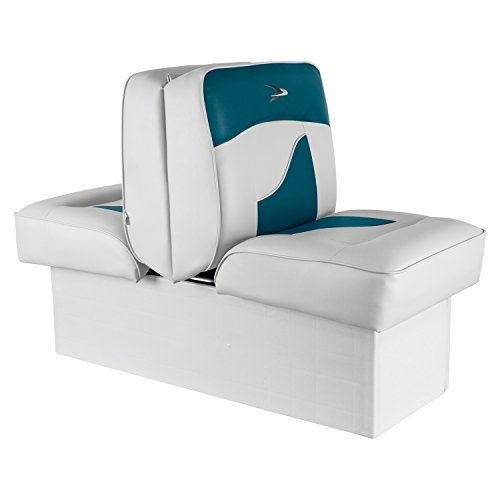 - Wise 8WD1033-0033 Contemporary Series Lounge Seat, White/Teal
