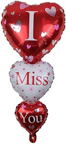 Globo Balón hinchable Corazones I Miss You corazón San Valentín ...