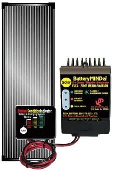 BatteryMINDer Solar Charging System - 12 Volt, 15 Watt Panel, Model# SCC-015 by BatteryMINDer