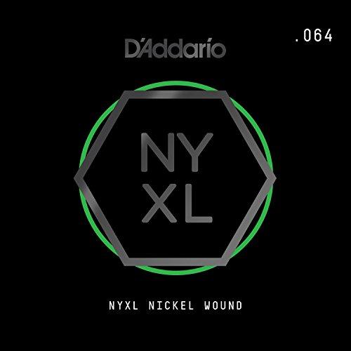 D'Addario NYXL Nickel Wound Electric Guitar Single String, .064