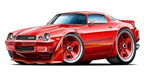 1982-1988 Chevy Camaro Z-28 Wall Art Decal Sticker Graphic Poster Man Cave Decor