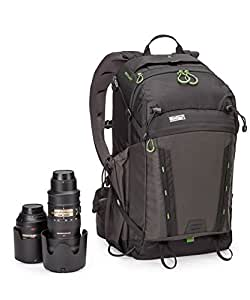 "MindShift BackLight 26L Backpack for DSLR Camera, Mirrorless Camera, Lenses, Flashes, 15"" Laptop and Tablet, Charcoal"