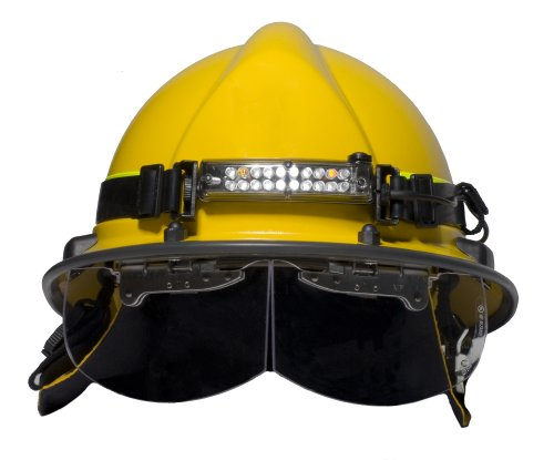 FoxFury 420-015 Command 20 Wildland Fire LED Firefighter Helmet Light with 1'' Silicone Strap, 70 Lumens by FoxFury (Image #1)