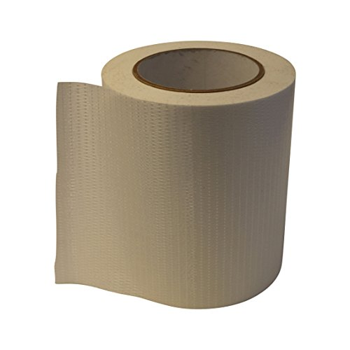 Opaque White Filament Reinforced - JVCC 762-BD Bi-Directional Filament Strapping Tape: 6 in. x 60 yds. / White (Opaque)