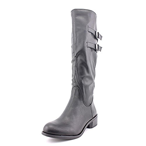Style Calf High Boot (Style & Co. Women's Masen Wide Calf Knee High Fashion Boot, Black, Size)