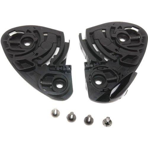 Shoei CW mecanismo de 1 de con tornillos Juego Casco XR de 1100/Qwest/X de Spirit II Shoei Helme 0213-0505-00 MCH433533