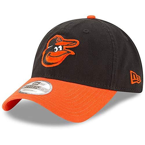 - New Era Baltimore Orioles Road Replica Core Classic 9TWENTY Adjustable Hat