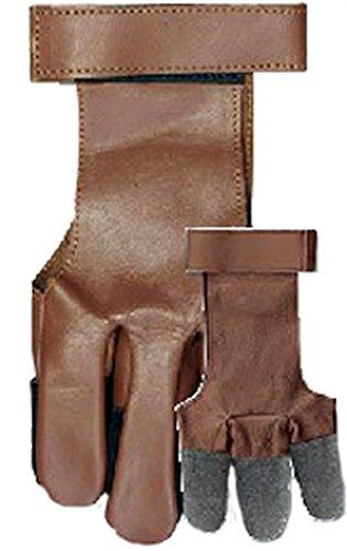 WESTERN RECREATION IND Vista Full Finger Leather Glove Large ()