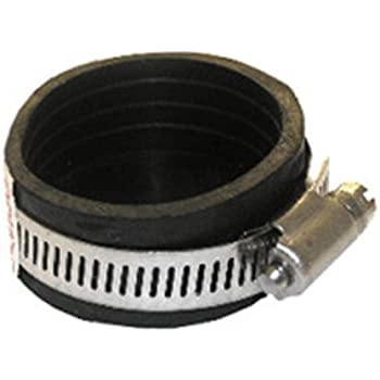 LASCO 25-6900 Clean-Out Cap Flexible Rubber Connector with