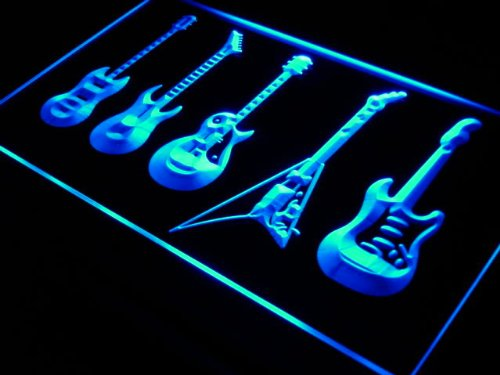 Neon Guitar Light - 2