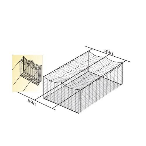 WALL TO WALL CAGE NET SUSPENSION KIT by BSN