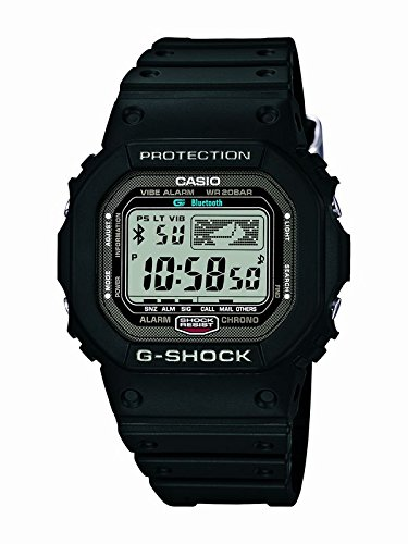 Casio G SHOCK Bluetooth Watch GB 5600B 1JF