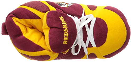 Redskins Indoor 01 Comfy Feet Washington Slippers Washington Men's Redskins qxx8w146