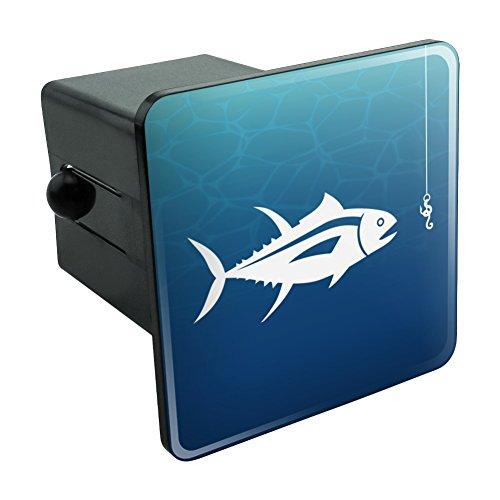 Tuna Fish Fishing Fisherman Tow Trailer Hitch Cover Plug Insert 2