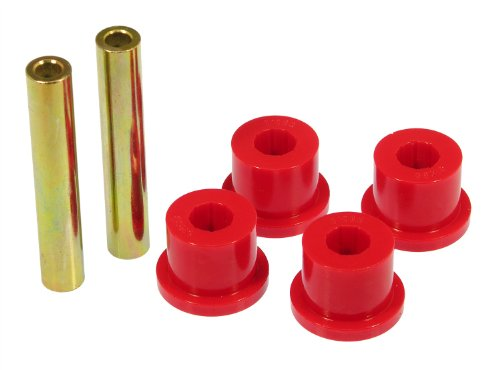 (Prothane 6-1603 Red Transmission Mount X-Member Bushing Kit)