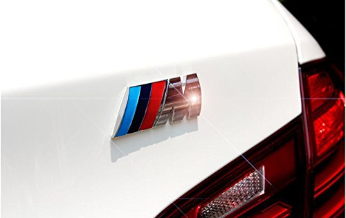 Replacement emblem 82mm and 74mm Blue and white Emblem for capo and trunk two teeth