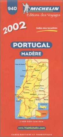 Michelin Karten, Bl.733 : Portugal, Madera (Michelin Country Maps) (Englisch) Landkarte – Folded Map, Februar 2002 Michelin Travel Publications Travel House Media 2061001033 General