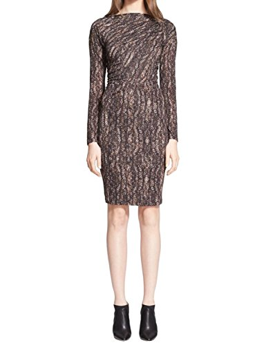 MaxMara Women's Calesse Abstract Print Jersey Dress US 6 (Abstract Print Jersey Dress)