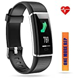 ZURURU Fitness Tracker, Waterproof Color Screen Fitness Watch with Calorie, Step & Distance Counter, Pedometer, Sleep &Heart Rate Monitor, Activity Tracker for Smart Phones Gift.