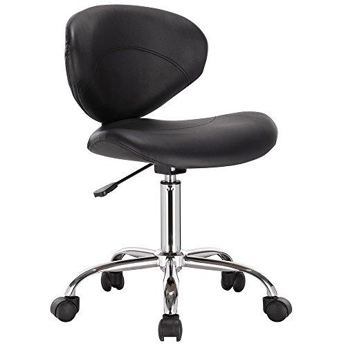 Venus Adjustable Height Massage Stool w/Wheels (Bar Venus Adjustable Stool)