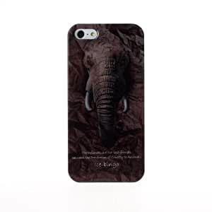 Diebell---Animal Protector Series IMD color Pattern Plastic Case for iPhone 4/4S (Elephant) wangjiang maoyi