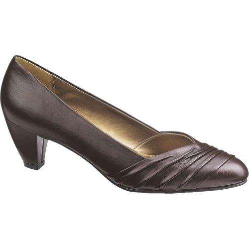 Vitello Brown Devon Style Soft Women's Pumps Dark gPAg7q
