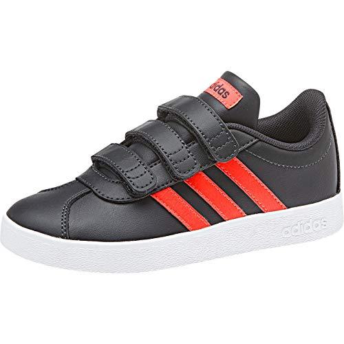 Adidas C De Niños rojsol Zapatillas 2 Court Deporte 0 Vl Gris Cmf carbon ftwbla Unisex 000 XFn0rqXw