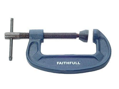 Medium Duty 3In Faithfull G Clamp