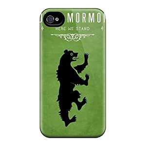 Cynthaskey Perfect Tpu Case For Iphone 4/4s/ Anti-scratch Protector Case (game Of Thrones House Mormont)
