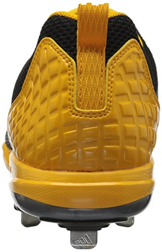 Adidas Poweralley 5 Mens Mens B39188 Nero / Argento Metallizzato / Oro Collegiato