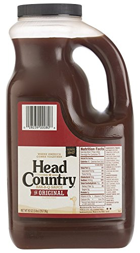 Head Country Bar-B-Q Sauce, Original, 80 Ounce