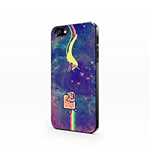 Galaxy Hipster - Hard Plastic Case for Iphone 5c