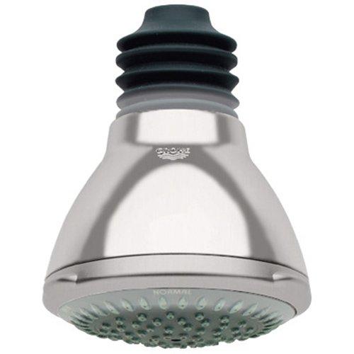 Grohe 28445EN0 Movario 100 Trio Shower Head With 1-Spray, Brushed Nickel