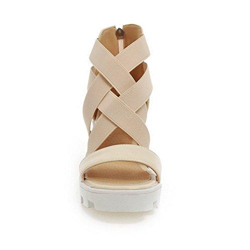 Sandalias mujer de para vestir Adee Beige HxAz66wq