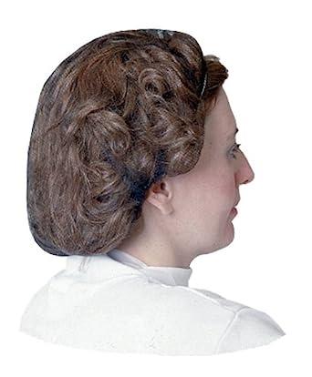 """Impact 7386B24 Nylon Honeycomb Hair Nets, 24"""" Diameter, Brown"""