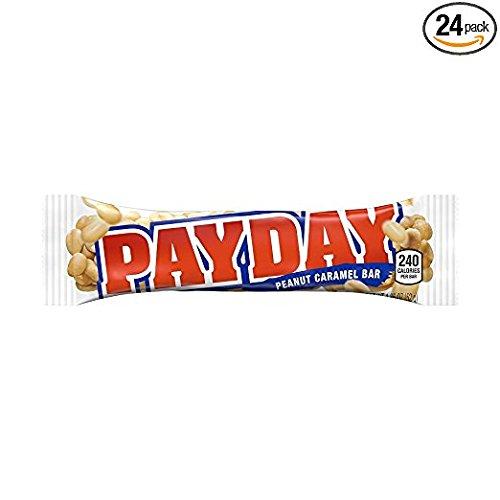 Payday Bars  1 85 Oz  24 Ct